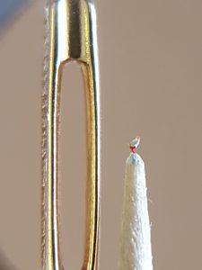 Weßer Hahn, Höhe 0,7 mm
